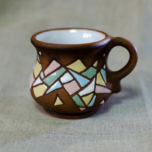 """Чашка """"Еспрессо Полив'яна"""" кубізм"""